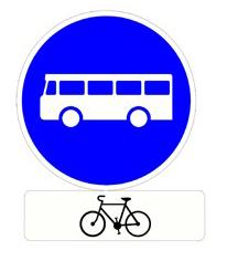 Voie Bus Autoris U00e9e Aux V U00e9los