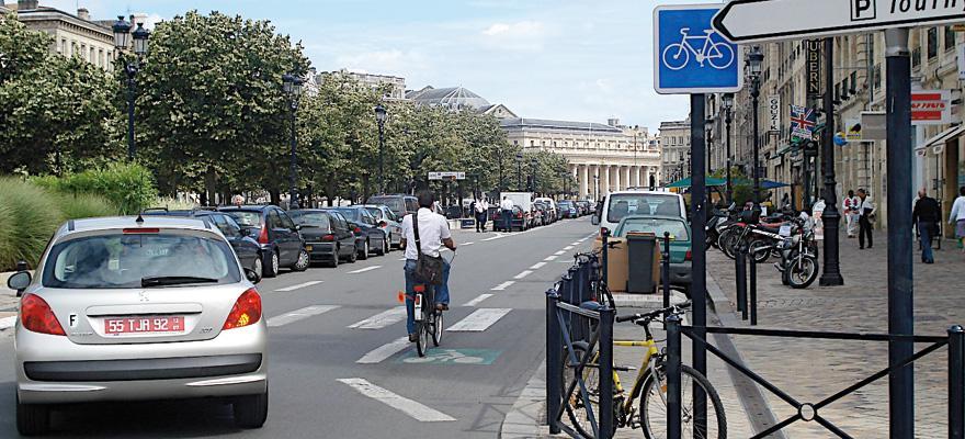 Bande Cyclable Federation Francaise Des Usagers De La Bicyclette