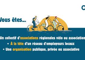 Participez à des webinaires pour découvrir le programme Objectif Employeur Pro-Vélo !